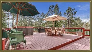 For Sale 327 S Ridge Rd Bailey CO Deck Picture
