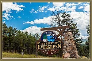 Homes in Evergreen CO