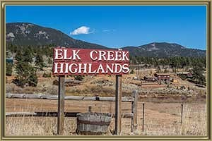Homes For Sale in Elk Creek Highlands Bailey CO