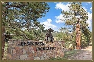 Homes For Sale in Evergreen Highlands Evergreen CO