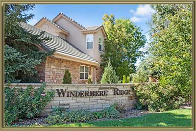 Homes For Sale in Windermere Ridge Littleton 80120 CO
