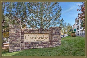 Condos For Sale in Cambridge in the Foothills Littleton 80127 CO