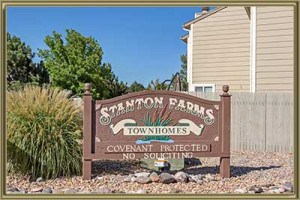 Townhomes For Sale in Stanton Farms Littleton 80127 CO