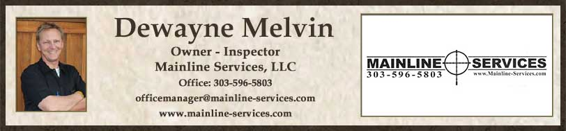 Dewayne Melvin with Mainline Services