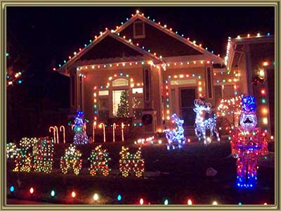 Best Places to View Christmas Lights in Littleton