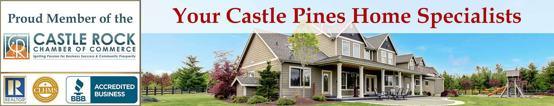 Castle Pines CO Organizational Banner