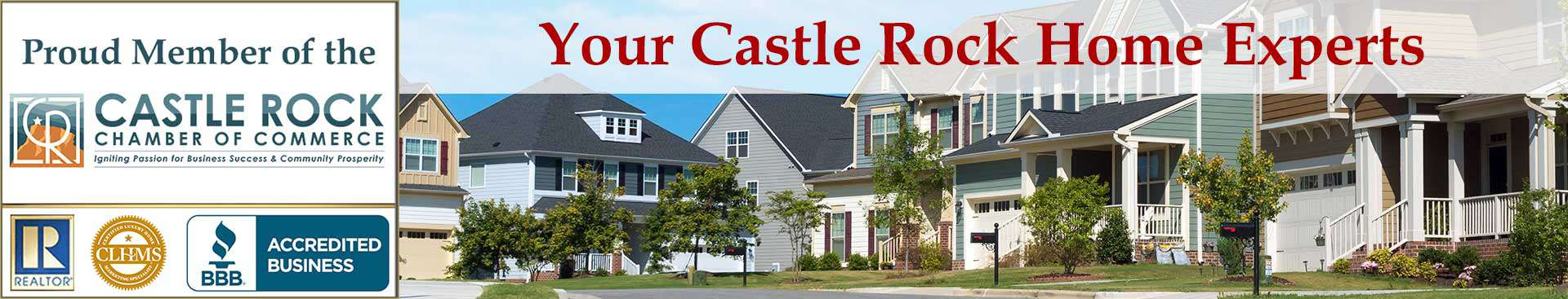 Castle Rock CO Organizational Banner