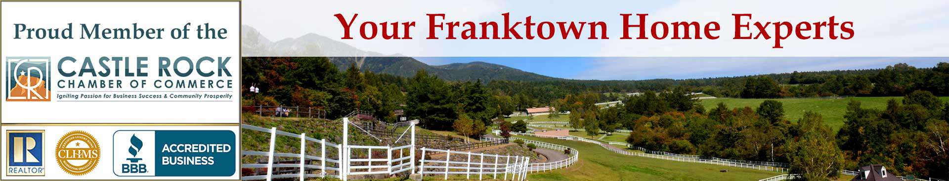 Franktown CO Organizational Banner
