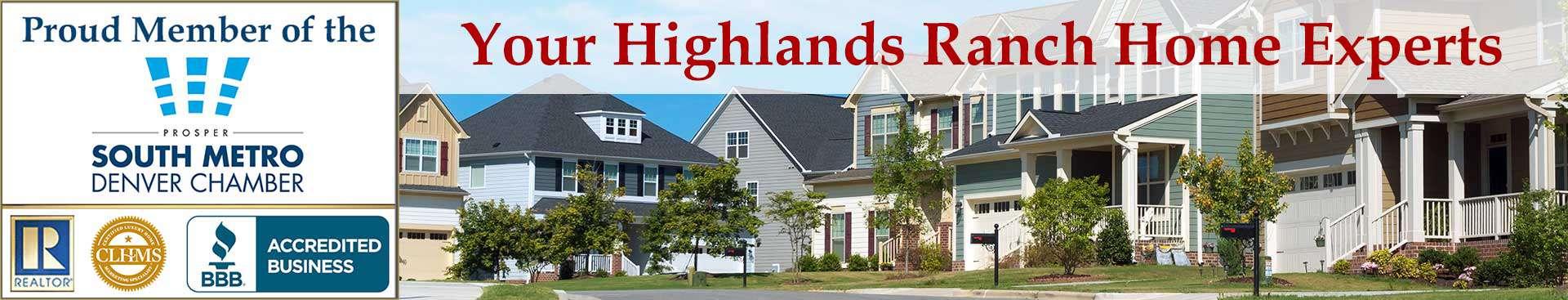 Highlands Ranch CO Organizational Banner