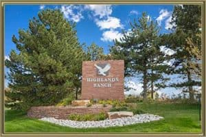 Homes in Highlands Ranch CO
