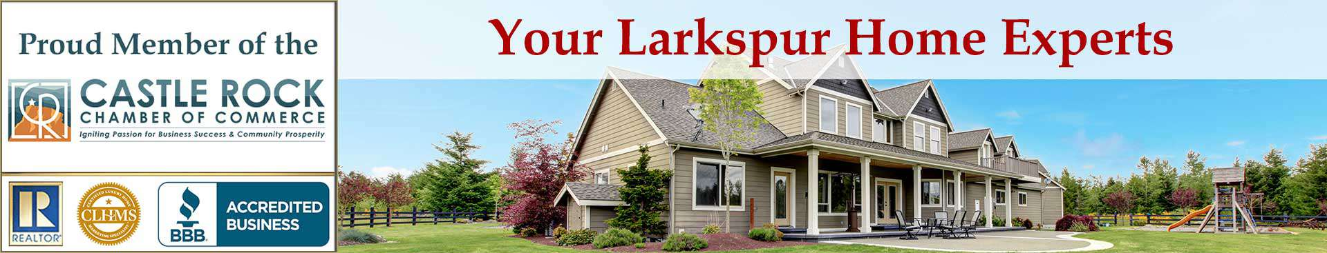 Larkspur CO Organizational Banner