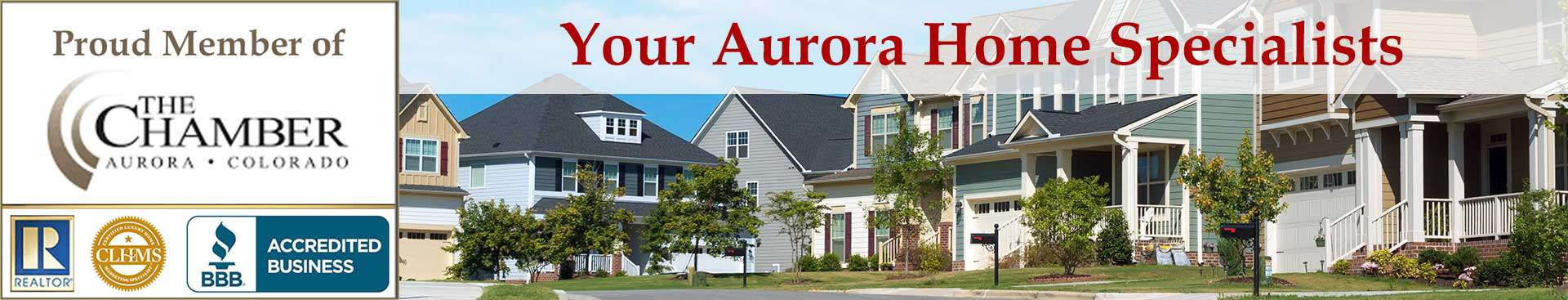 Aurora CO Organizational Banner