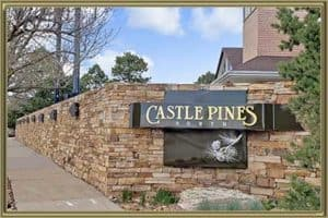 Homes in Castle Pines CO
