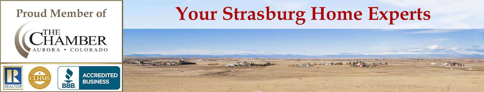 Strasburg CO Organizational Banner