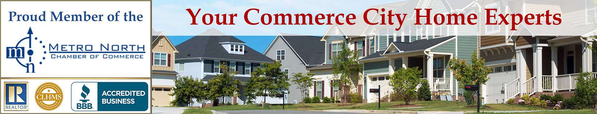 Commerce City CO Organizational Banner