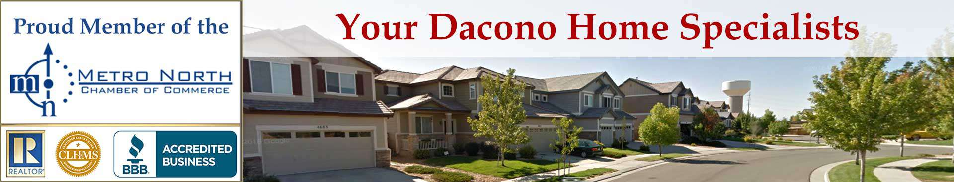Dacono CO Organizational Banner