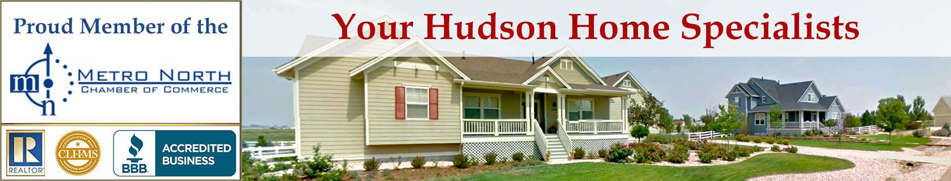 Hudson CO Accreditations Banner