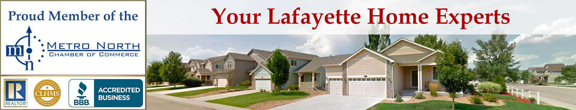 Lafayette CO Accreditations Banner