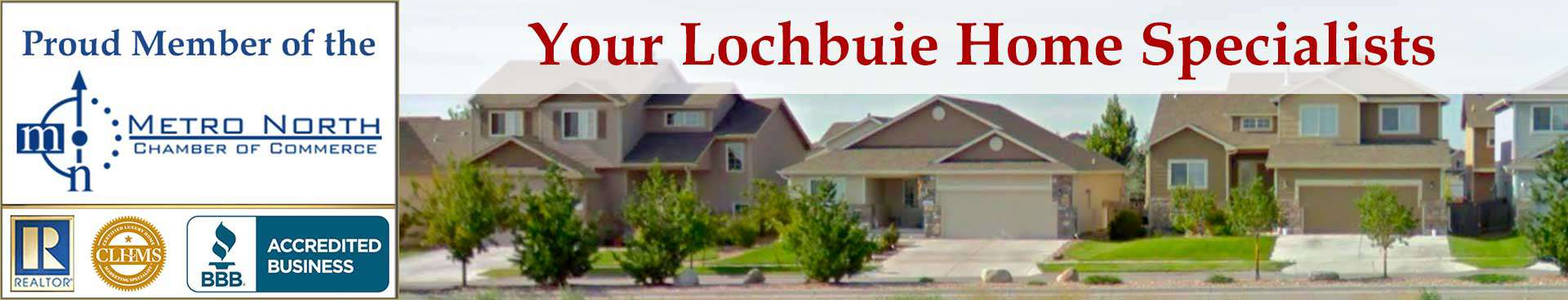 Lochbuie CO Accreditations Banner