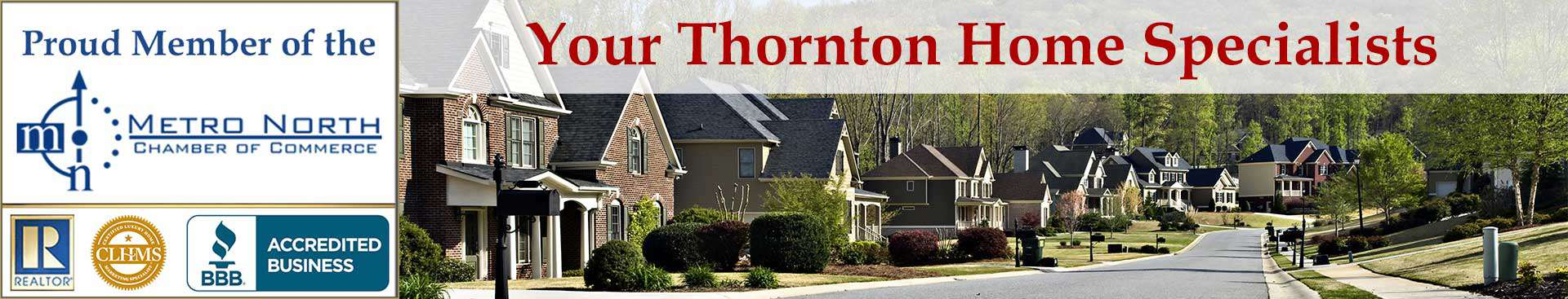 Thornton CO Organizational Banner