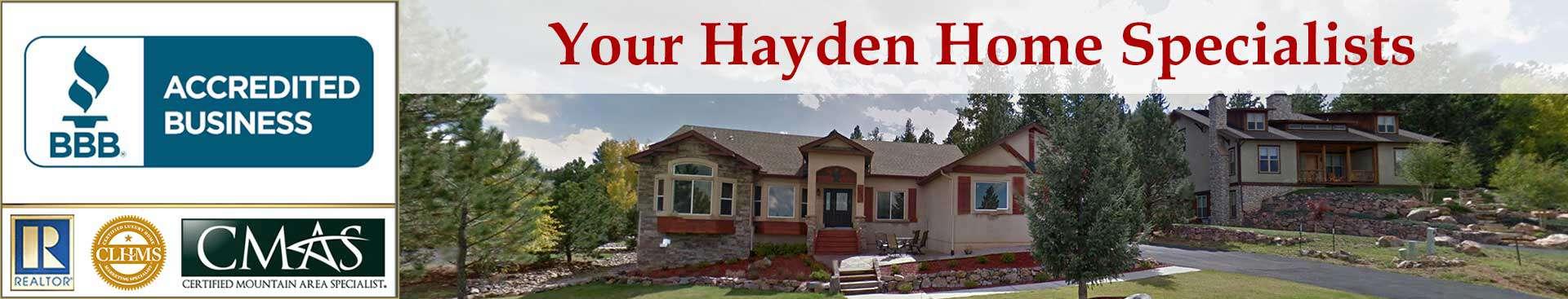 Hayden Accreditations Banner