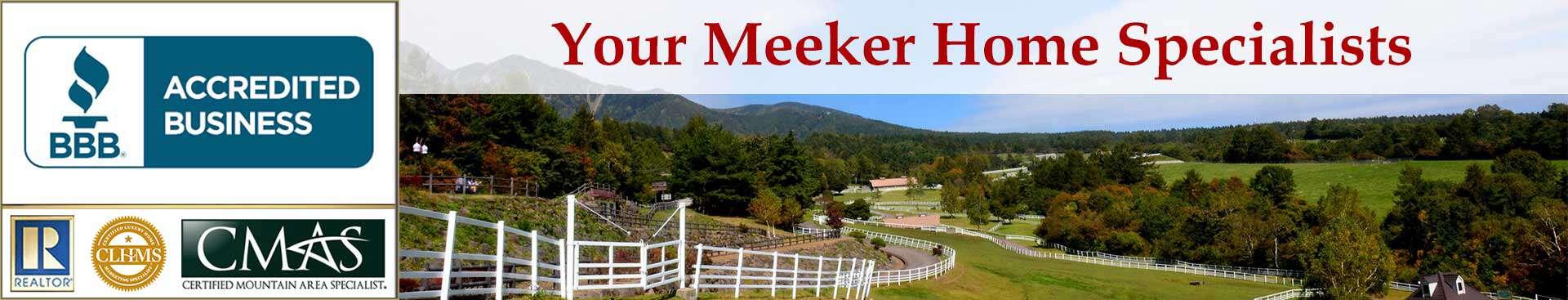 Meeker Accreditations Banner