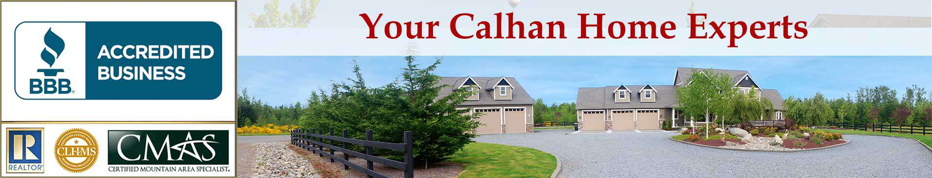 Calhan Accreditations Banner