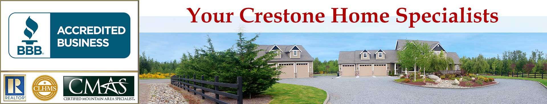 Crestone Accreditations Banner