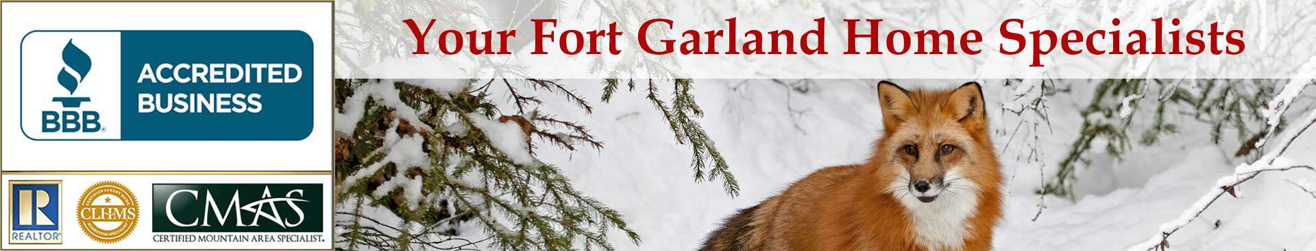 Fort Garland Accreditations Banner