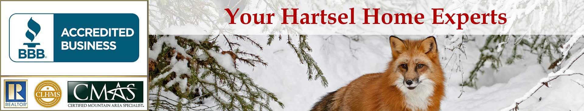 Hartsel Accreditations Banner