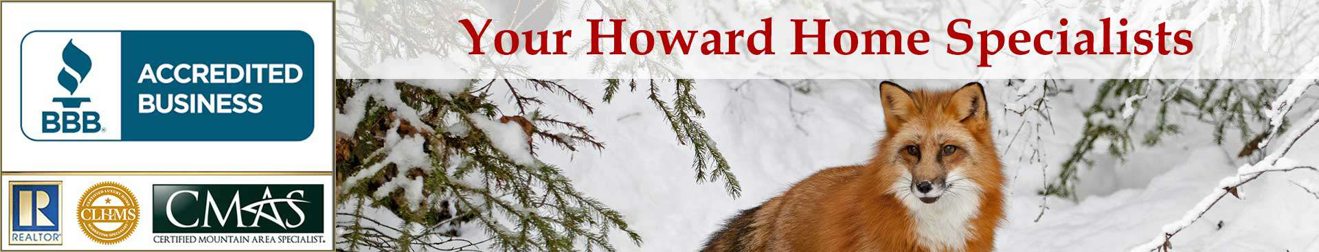 Howard Accreditations Banner