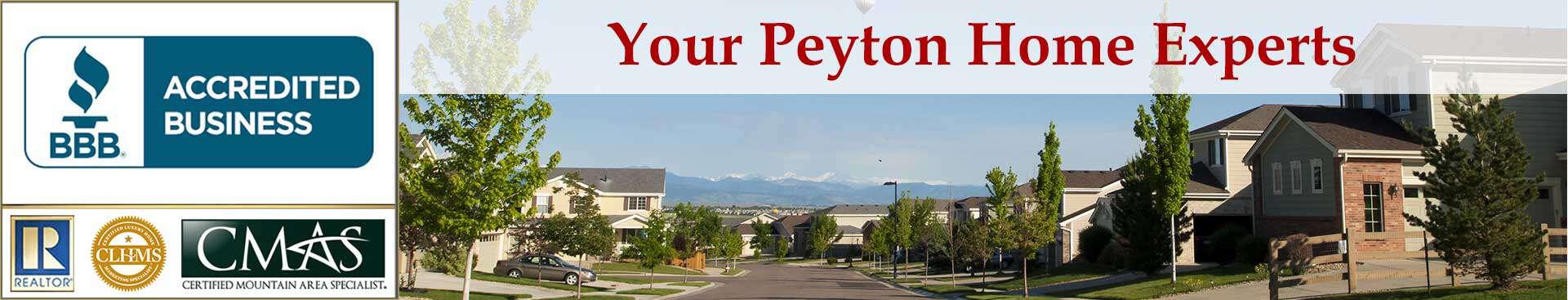 Peyton Accreditations Banner