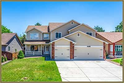 Front of House at 5544 S Ward Way