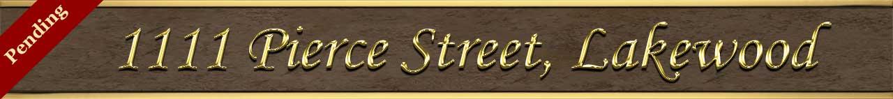 Active Status for 1111 Pierce Street in Lakewood